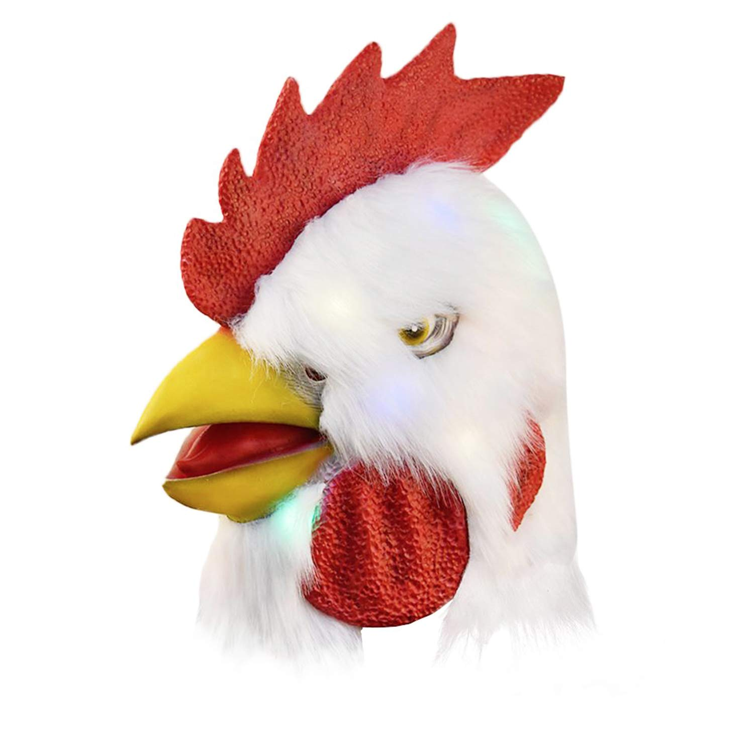 Chicken Mask Halloween Rooster Masks Animal Costumes Miami Head Mask For Adults Buy Online In Congo At Congo Desertcart Com Productid 166352402 Bulk buy chicken masks online from chinese suppliers on dhgate.com. chicken mask halloween rooster masks