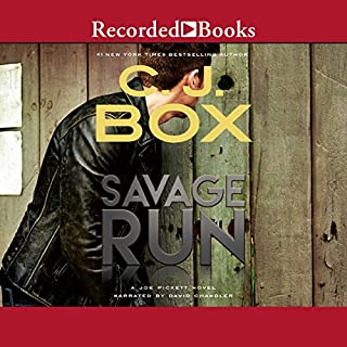Savage Run audiobook cover art