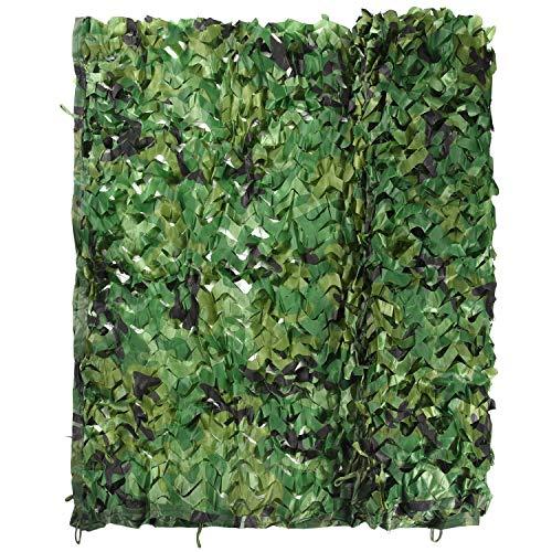 TUPARKA 2 * 3M Woodland Oxford Stoff Grünes Netz für Camping Militärjagd Schießen Verstecken Gartendekoration