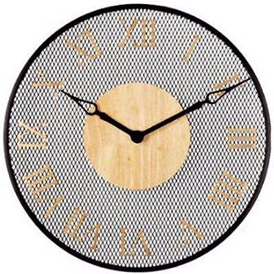 Imoerjia Round Wall Clock Living Room Dining Room Bedroom Clocks Hyun Off Wall Personality Atmospheric Digital