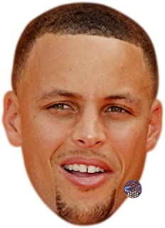 Stephen Curry Celebrity Mask, Card Face and Fancy Dress Mask