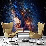 VGFGI Paisaje natural del cielo estrellado del arte de la pared 3D autoadhesivo para el papel pintado del vinilo de la decoración del hogar