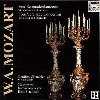 Mozart: Four Serenade Concertini for Violin and Orchestra
