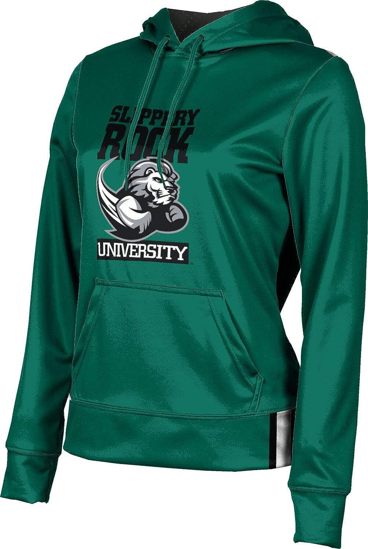 Slippery Rock University Girls' Pullover Hoodie, School Spirit Sweatshirt (Solid)