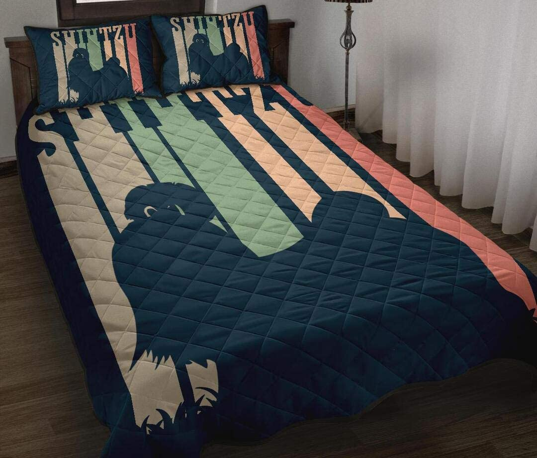 Max 75% OFF Personalized SALENEW very popular! Shihtzu Quilt Valentine's Day Gift Daughter Son to