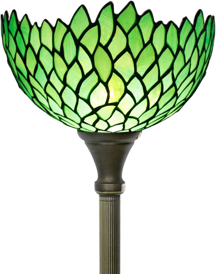 Very popular Tiffany Floor Jacksonville Mall Lamp Torchiere Uplight Tall 66
