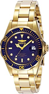 Invicta Pro Diver - Reloj de pulsera para hombre (37,5 mm, acero inoxidable y tono dorado)