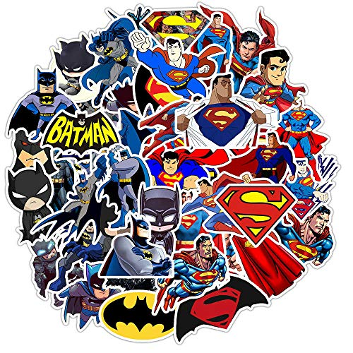 YZFCL Don't Repeat Batman Marvel Luggage Lever Box Notebook Personality Computer Doodle Sticker 45Pcs