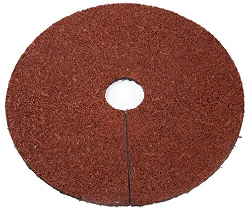 Trademark Innovations Reversible Mulch Ring Tree Protector Mat, 24
