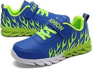 ONEYUAN Children Fierce Jungle Tyrannosaurus Rex Dinosaur Kid Casual Lightweight Sport Shoes Sneakers Walking Athletic Shoes