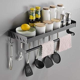 YJKDM Support de Rangement de Cuisine, Support d'assaisonnement Multifonctionnel Domestique, élargi et épaissi, Organisate...