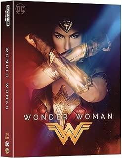 WONDER WOMAN [4K UHD Blu-ray + 2D Blu-ray Manta Lab Exclusive Steelbook DOUBLE LENTICULAR Full Slip Edition; Region-Free]