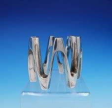 Tjorn by Dansk Silverplate Candle Holder 12-Light Ring Shaped Wave Design #3319