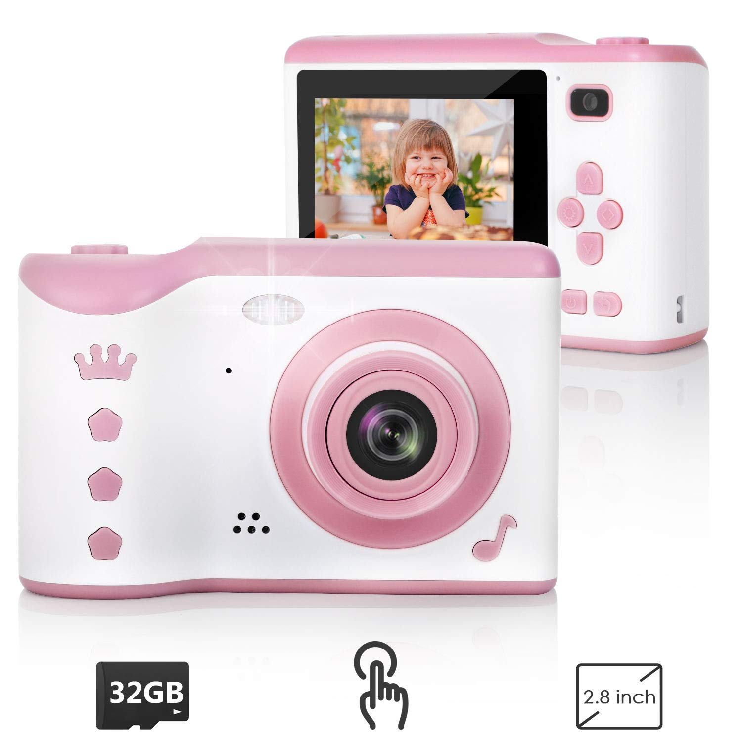 Creative Rechargeable Children Camcorder Included