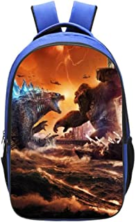 Godzilla Vs Kong Backpack Durable Laptop Schoolbag Lightweight Business Daypack for Boys Girls Teen