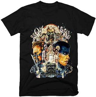 マッドマックス映画男性ファニーTシャツ原宿トップTシャツジムキングTシャツスカルTシャツブラックトップ
