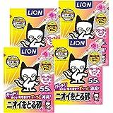 【Amazon.co.jp限定】 ニオイをとる砂 猫砂 フローラルソープ 5.5Lx4袋 (ケース販売)