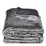 Crack-Decke – softe Kuscheldecke – Tagesdecke im glitzernden, individuellen Antik-Erscheinungsbild – 145x200 cm – 900 silver – von 'zoeppritz since 1828'