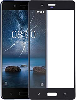 WTYD Mobile Phone Lens Glass Front Screen Outer Glass Lens for Compatible with Nokia 8 / N8 TA-1012 TA-1004 TA-1052