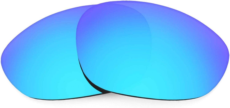 Revant Verres de Rechange pour Oakley X Metal XX - Compatibles avec les Lunettes de Soleil Oakley X Metal XX Bleu Glacier Mirrorshield - Non Polarisés