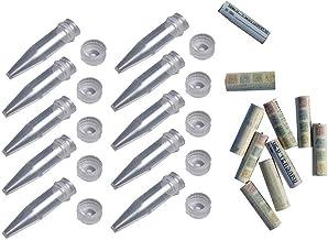 geo-versand Geocaching Mini Geocache Set van 10 nano-schroefsluitingen, 10 stuks