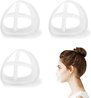 Face Mask Inner Support Frame Homemade Cloth Mask Cool Silicone Bracket More Space for Comfortable Breathing Washable Reus...