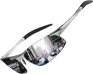 Mens Sports Polarized Sunglasses UV Protection Fashion...