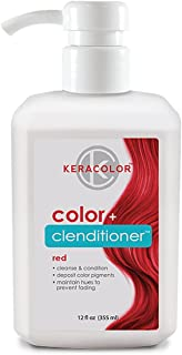 Keracolor Clenditioner Color Depositing Conditioner Colorwash - Instantly Infuse Color into Hair, 15 Colors | Cruelty Free