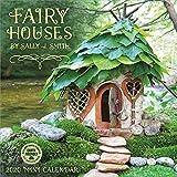Fairy Houses 2020 Mini Wall Calendar (7 x 7, 7 x 14 open)