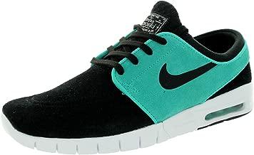 NIKE SB Zoom Stefan Janoski Max Suede Black/Light Retro/White / Black Skate Shoes-9