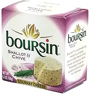 Boursin Shallot and Chive Cheese Spread, 5.2 Ounce -- 6 per case.
