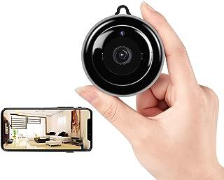 Mini Hidden Camera, HD 1080P Wireless WiFi Small Camera with Night Vision and Motion Detection, Mini NannyCam with Remote...