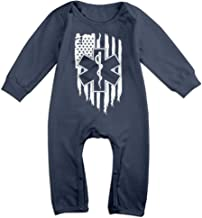 GOOD BBBaby Baby Boys Printed American Flag EMS EMT Bodysuits Coverall Jumpsuit