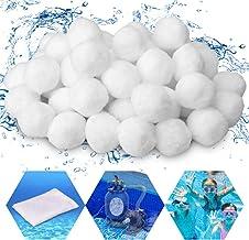 GESPERT - Filtros para bomba de piscina, 700 g, sustituye a 25 kg, arena de filtro de cuarzo para piscina, filtro de arena, accesorios con una bolsa de filtro (blanco)