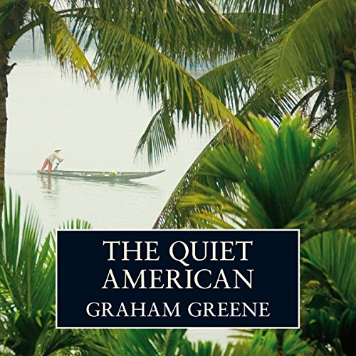 The Quiet American audiobook cover art