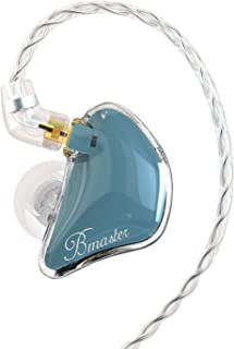 BASN Bmaster Triple Drivers in Ear Monitor Headphone with Two Detachable Cables Fit in Ear...