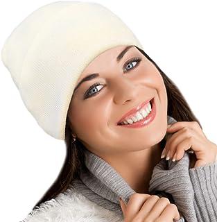 قبعة صوف ميرينو من بلوبيري يوني فورمز - قبعة شتوية ناعمة واكتيف وير