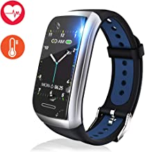 Fitness Tracker Watch, Activity Tracker with Heart Rate Monitor, 1.14'' Color Screen Fitness Watch with Blood Pressure Monitor Sleep Monitor, Pedometer Calories Counter Smart Watch