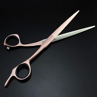 High-end Professional Hairdressing Scissors 7 inch - 1 Straight Edge Hair Scissor,C,7 Inch