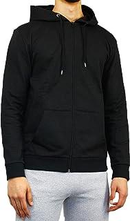 Bonjour® Men's Plain Zipped Hoodie