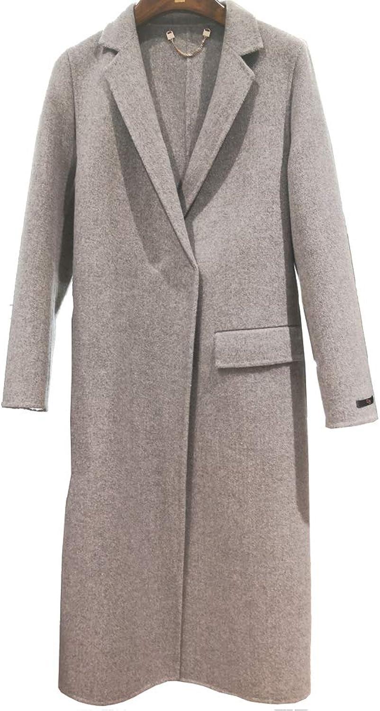 CG Women's Winter DressCoats Slim Long Woolen Pea Coat G063