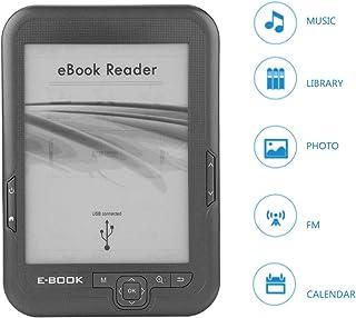 comprar comparacion Lector Libros Electrónicos, 6 Pulgadas 4GB Resolución 800 x 600 Lector de Libros Electrónicos Tinta Electrónica Portátil c...