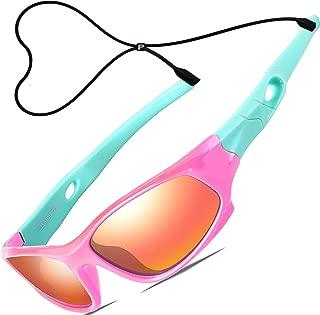 Kids Hot TR90 Polarized Sports Sunglasses For Boys Girls...