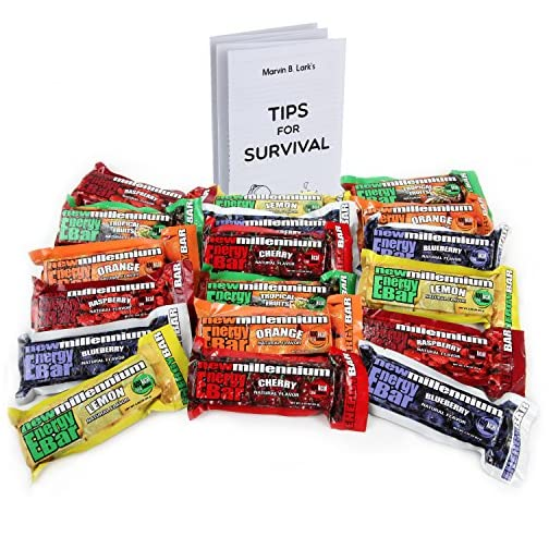Freccia Rossa Market Millennium Energy Bars Assorted Flavors 18- Pack Including Emergency Guide 3