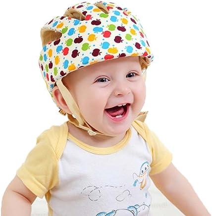 Jadebin Baby Infant Adjustable Safety Helmet Colorful Protective Head Guard Harnesses