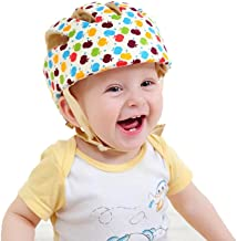 Jadebin Baby Infant Adjustable Safety Helmet Colorful Protective Head Guard Harnesses