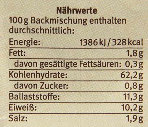 Bauckhof Vollkorn-Bauernbrot-Backmischung (500 g) – Bio - 6