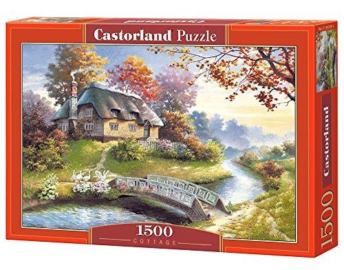Castorland C-150359-2 - Cottage, 1500 Pezzi, Puzzle Classic