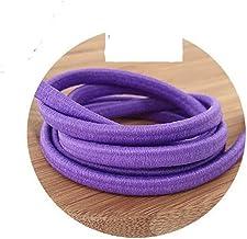 Xpwoz 5/10 / 20M 5mm Kleur Dik elastisch koord DIY Accessoires (Color : NO28, Size : 20M)