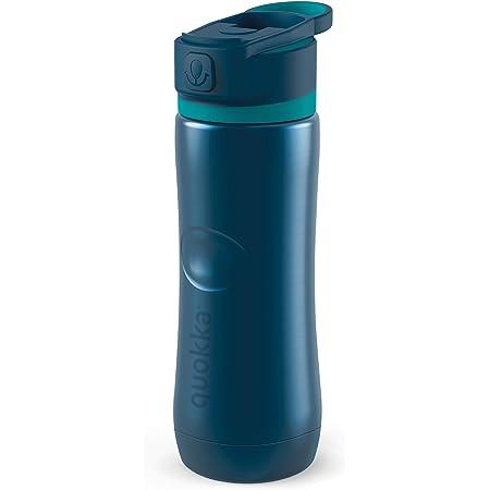 Seafoam 510 ML Botellas De Agua Acero Inoxidable Sin BPA  Botella T/érmica De Doble Pared Quokka Solid Mantiene el fr/ío y el Calor para Ni/ños y Adultos